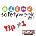 Safety Week 2014 Tip 1