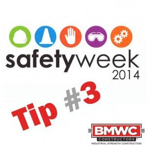 Safety Week 2014 Tip 3