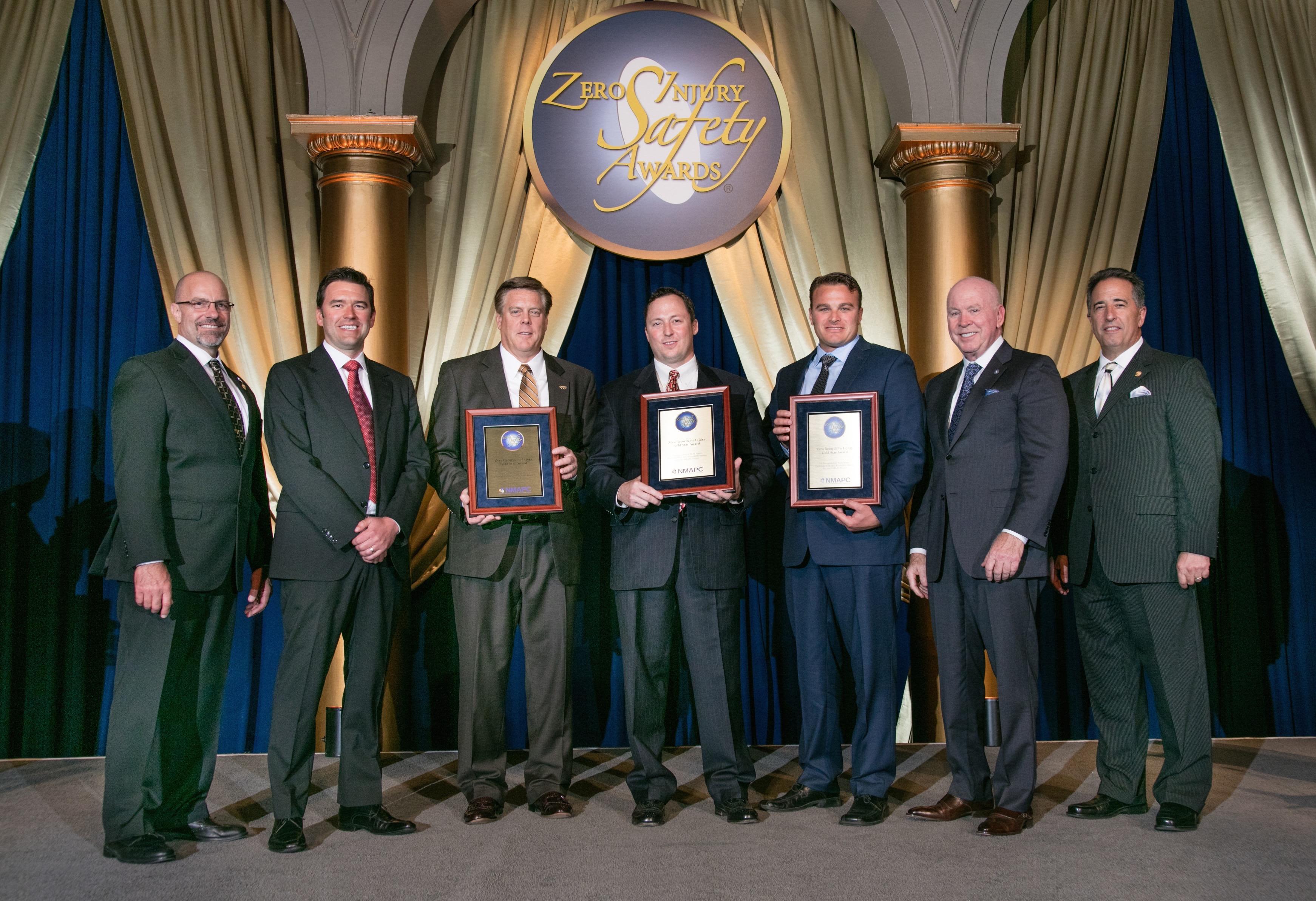 Bmwc Awarded Highest Honor At Zero Injury Safety Awards Gala Bmwc